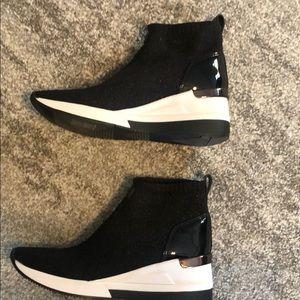 Michael Kors Glitter sock sneaker!